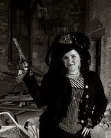 Steampunk shoot at the Pumphouse